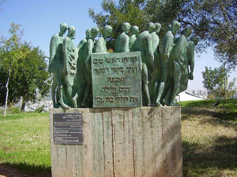 האוניברסיטה העברית, מחקר, מציע תשובה; מה הייתה מטרת 'צעדות המוות' בסוף מלחמת העולם השנייה | צילום יד ושם