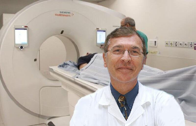 פרופ' פייר שוראקי, מנהל המכון לרפואה גרעינית
