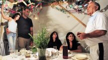 חג הסוכות בקרב יהודי לוב | המנהגים והמאכלים | עיבוד צילום: שולי סונגו