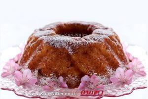 עוגת ריקוטה פרסקה, ותפוחי-עץ מתובלים | עיבוד צילום: שולי סונגו ©