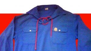 חולצה כחולה של תנועת הנוער העובד והלומד