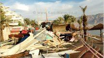 אילת: רשות מקרקעי ישראל, הרסה הדוכנים הבלתי חוקיים