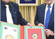 נשיא המדינה מר שמעון פרס, ברך לרגל המימונה, חג יוצאי יהדות מרוקו