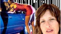עידית הראל שמש, מנהלת 'מכון תודעה למאבק בזנות', ו-אלון מטריקין גולד, מ'מטה המאבק בסחר בנשים