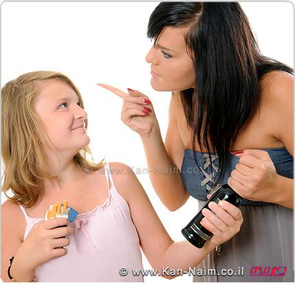 עמותת שניר להורים: אוזלת יד בנוגע למכירת אלכוהול וסיגריות