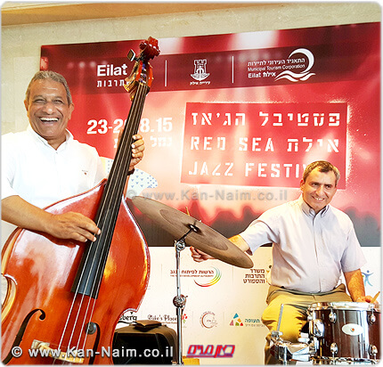 אילת פתחה את פסטיבל הג'אז, זו השנה ה-29 במעמד השר אלקין וראש העיר יצחק הלוי