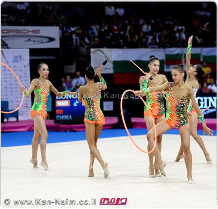נבחרת ישראל בהתעמלות אמנותית | העפילה ל'אולימפיאדת ריו דה ז'ניירו' | צילום: עמית שיסל | עיבוד צילום: שולי סונגו ©