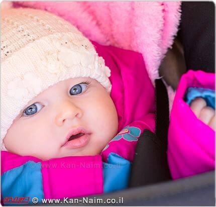 משרד הבריאות קורא להורים לתינוקות, לנקוט בפעולות חשובות, לצמצם את נזקי הקור   צילום: ארכיון כאן נעים   עיבוד צילום: שולי סונגו ©