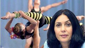 שרת התרבות והספורט, מירי רגב, עשתה אקרובטיקה לתת מלגות ל-3 אקרובטיות