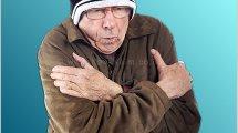 אדם מבוגר קופא מקור, משרד הבריאות, קורא לנקוט מספר פעולות חשובות על מנת לצמצם את נזקי הקור