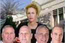 """עידן גרינבאום, זיו הרחול, ד""""ר גבי אסם, אבי אייזנברג, חיים חליווה מועמדים לראשות מועצה אזורית עמק הירדן"""
