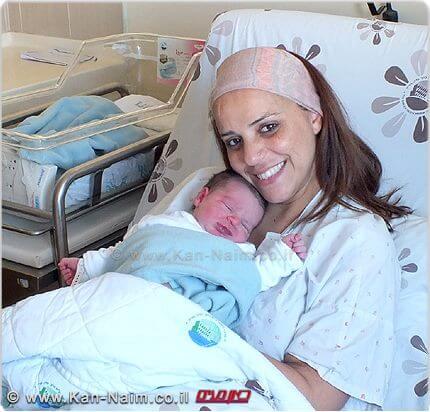 היולדות קרן מנדל במרכז הרפואי על שם ברוך פדה, פוריה | צילום: מיה צבן | עיבוד צילום: שולי סונגו ©