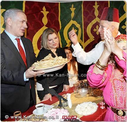 ראש הממשלה בנימין נתניהו ורעייתו שרה מתארחים באירועי המימונה