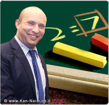 שר החינוך מר נפתלי בנט, בירך את התלמידים ואיחל להם בהצלחה בבחינות הבגרות