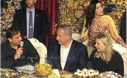 ראש הממשלה נתניהו ורעייתו מתארחים בעיר יבנה באירועי המימונה