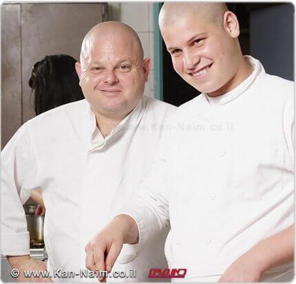 השף איל לביא | צילום: איליה מלניקוב, יחצ | עיבוד צילום: שולי סונגו ©