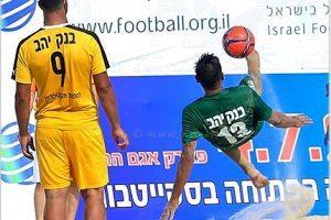 כדורגל חופים ישראלי בסגנון ספרדי: נתניה, חדרה, כפר קאסם ממשיכות לנצח