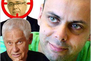 השמצה פרועה של העיתונאי רענן שקד נגד העיתונאי אמנון לוי