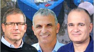 מאיר צור, משה כחלון, אבשלום וילן - משרד החקלאות, האוצר והתאחדות חקלאי ישראל הגיעו להסכמות על ענף המדגה