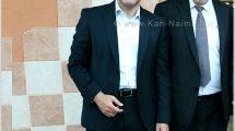 היועץ המשפטי לממשלה אביחי מַנדלבליט עם יושב ראש לשכת עורכי הדין בישראל עורך הדין אפי נוה | צילום: לשכת עורכי הדין | עיבוד: שולי סונגו ©