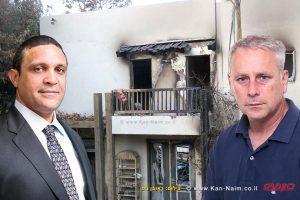 """נזקי השריפה רק במושבה זכרון יעקב, כ-50 מיליון ₪ערן סיב ו-עו""""ד חיים מסילתי"""