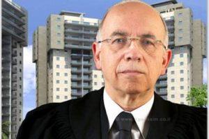 השופט יחזקאל קנר   עיבוד צילום: שולי סונגו ©