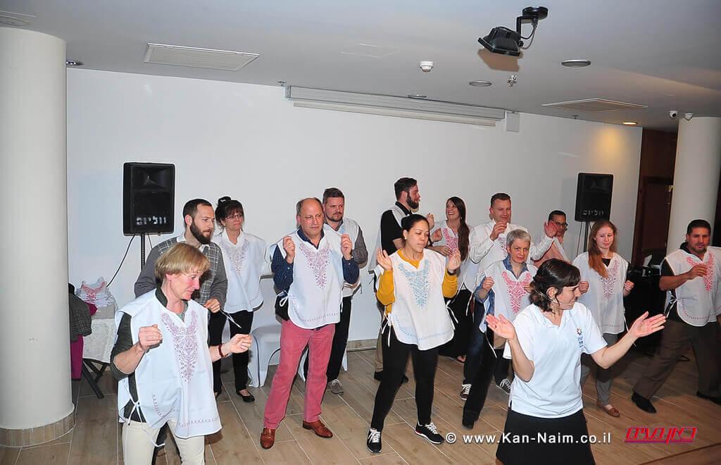פעילות ריקודי עם בבתי המלון בטבריה עם סוכני הנסיעות מהעולם   עיבוד צילום: שולי סונגו ©