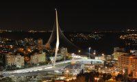 גשר המיתרים בכניסה לירושלים