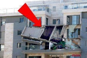 קריסת המרפסות בעיר חדרה: מכתבי שימוע ל-15 חשודים בפרשה