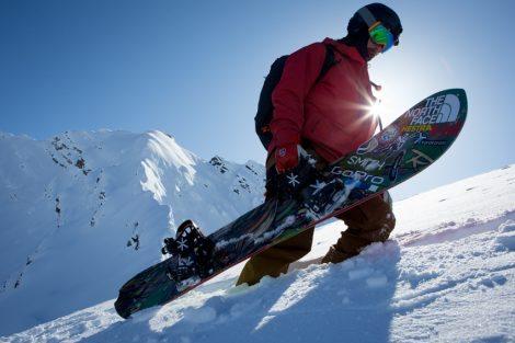 אווירה סקי THE NORTH FACE חורף 16-17 | צילום: ג'ים פלטין