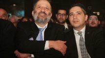 שר הפנים הרב אריה מכלוף דרעי עם המשנה לראש עיריית חדרה ר' בועז ביטון