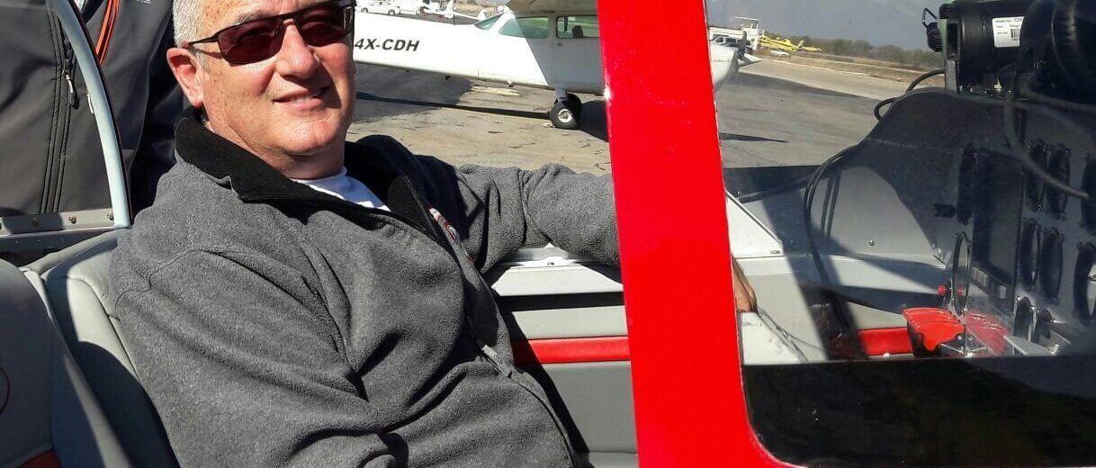 הטייס אלכס גן, יעמוד בראש מטה המאבק נגד הקמת שדה תעופה בינלאומי בעמק יזרעאל