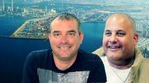 """אלון חסן יו""""ר ועד נמל אשדוד לשעבר ויניב בלטר מחברת דנה לוגיסטיקה מאשדוד שנשפט ל-18 חודשי מאסר"""