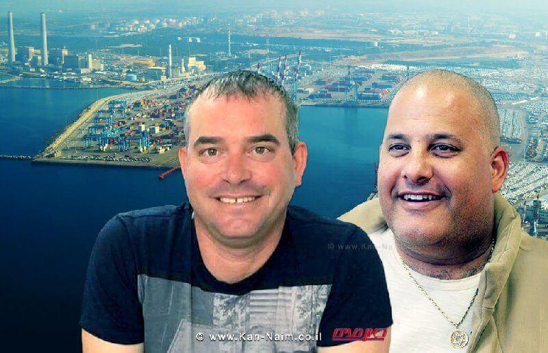 אלון חסן יושב ראש ועד נמל אשדוד לשעבר ויניב בלטר מחברת דנה לוגיסטיקה מאשדוד שנשפט ל-18 חודשי מאסר
