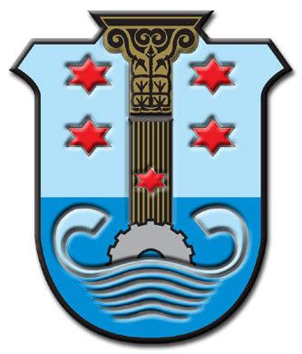 סמל העיר אשקלון | עיבוד צילום: שולי סונגו ©