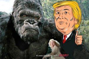 הנשיא דונלד טראמפ כ-קינג קונג | העולם הזה על פי אורי אבנרי