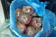 מפקחי משרד החקלאות חשפו טון בשר בתנאים אסורים בדרום בצילום: חלק מהבשר שנתפס | צילום:משרד החקלאות