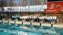 יבגניה טייטלבאום היא אלופת ישראל בשחייה אומנותית בצילום המנצחות בתחרות