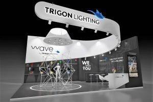 טריגון גוף התאורה, יזהה הלקוח ויכוונו למוצר בו יגלה עניין