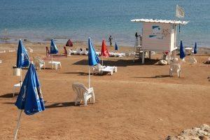 מגן דוד אדום תיירת מגרמניה כבת 60 טבעה למוות בחוף קליה בים המלח | צילום: מתוך אתר חוף קליה