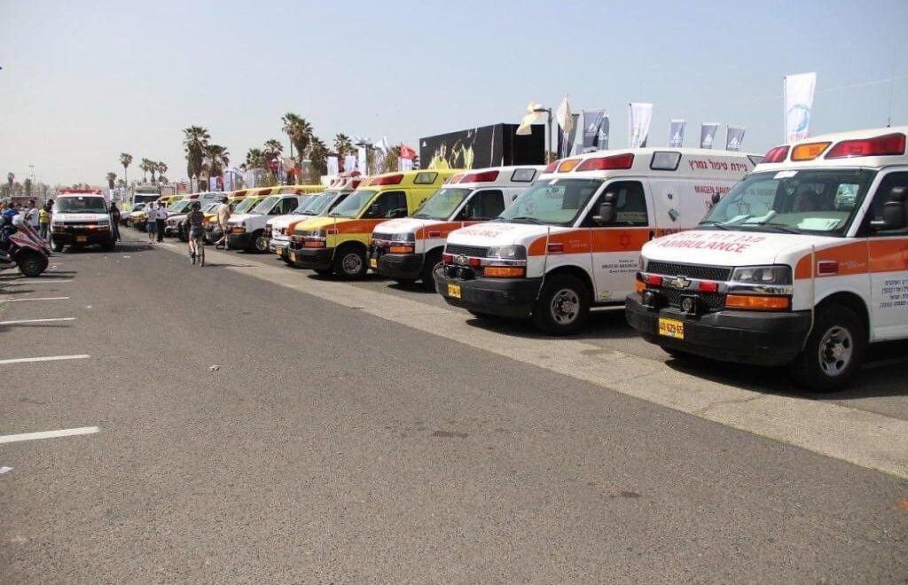 כוחות מגן דוד אדום ערוכים לאבטח רפואית את מרתון תל-אביב 2017
