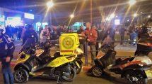 מגן דוד אדום טיפל בצעיר בן 24 שנפצע בינוני מירי זירת האירוע בעיר עכו