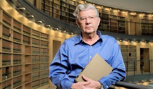 פרופסור אהרן ברק, נשיא בית המשפט העליון (2006-1995) | צילום: ויקיפדיה