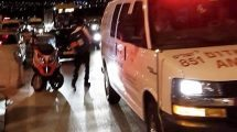 תאונת דרכים בין שני כלי רכב סמוך למחלף דרור לכיוון תל מונד