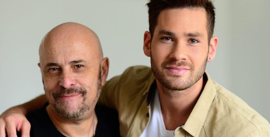 אימרי זיו נציג ישראל לאירוויזיון, החל בצילומים למשדר מיוחד עם העיתונאי יואב גינאי | צילום: דוד וינוקור