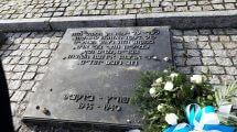 לוח זיכרון באתר בירקנאו