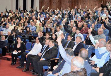 מאיר צור נבחר לקדנציה נוספת כמזכיר הכללי של תנועת המושבים   צילום: דודי נשר