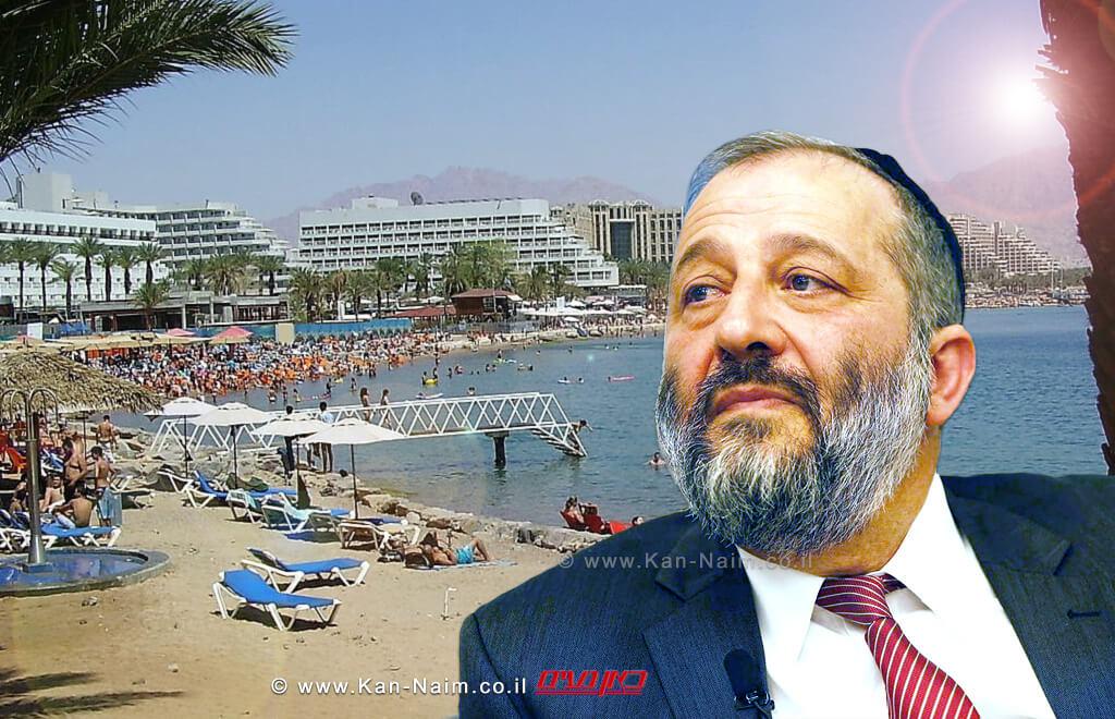 שר הפנים חבר הכנסת הרב אריה מכלוף דרעילפתוח את חופי הרחצהכבר כבר ב'חופשת הפסח' הקרובה