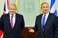 """ראש הממשלה מרבנימין נתניהו נועד היום (ד') עם שר החוץ של בריטניה מר בוריס ג'ונסון בלשכתו בעיר הבירה ירושלים   צילום: קובי גדעון, לע""""מ"""