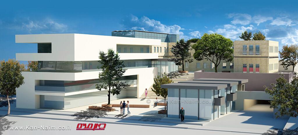הדמיית המבנה להקמת מרכז הייטק ראשון מסוגו בקריית שמונה | צילום: זאבי תקשורת.